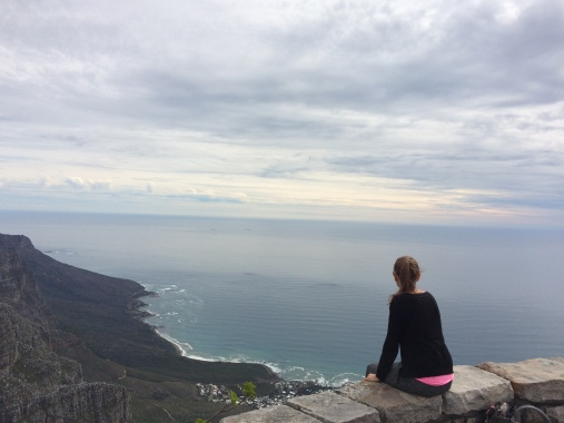 on top of the table mountain